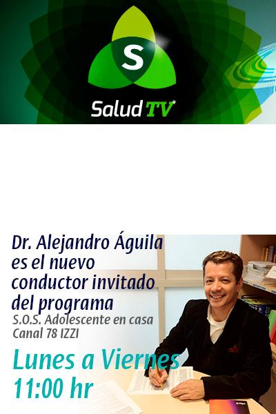 Nuevo conductor S.O.S. adolescente en casa Dr. Alejandro Aguila Tejeda