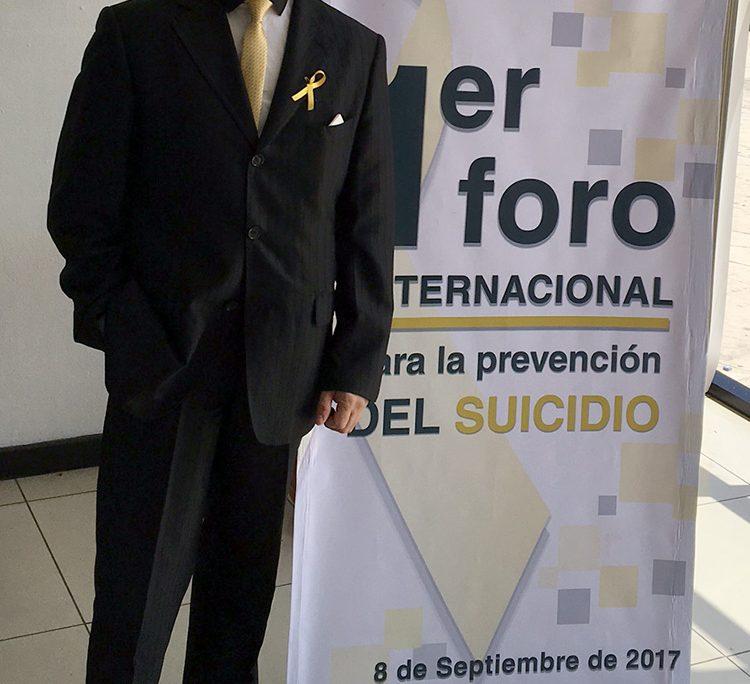 1er. Foro Internacional para la Prevención del Suicidio Tuxtla Gutiérrez